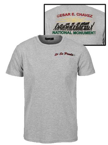 Grey Chavez Monument shirt