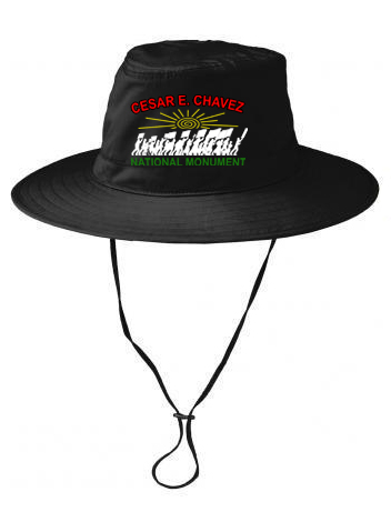 Black National Monument bucket hat