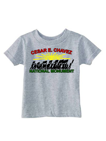Kids Grey National Monument T-shirt