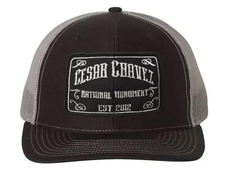 Cesar Chavez National Monument patch hat black grey snapback hat ... 790368b5a5f